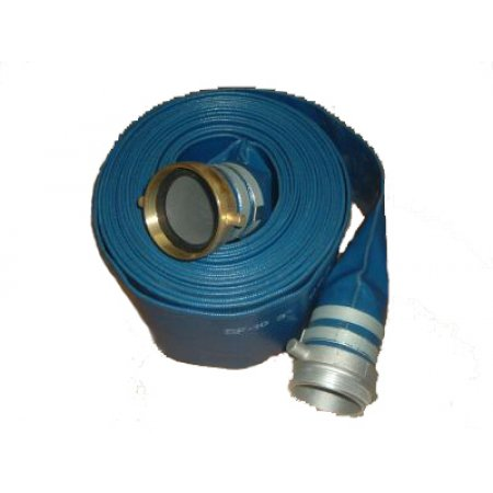 "3"" x 50' Discharge Hose Coupled M X F"