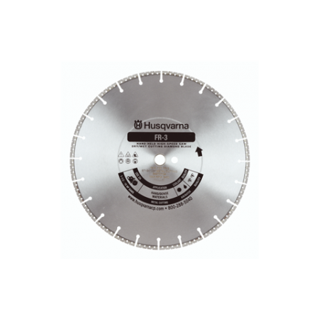 "Husqvarna FR3 14"" Metal Cutting / Fire Rescue Diamond Blade"