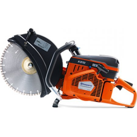 "Husqvarna K970 Gas Power Cut Off Saw 14"" Blade Guard"