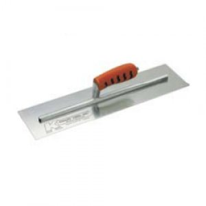 "Concrete Finish Trowel 12"" x 4"" Pro Handle"
