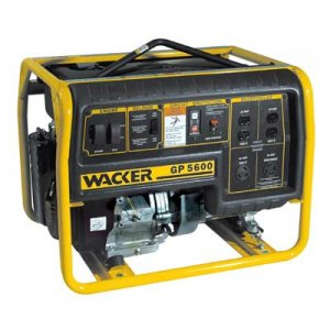 Wacker GPS5600 watt Portable Generator