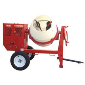 Multiquip 9CF Poly Drum Concrete Mixer MC94PH8 Honda 8 hp