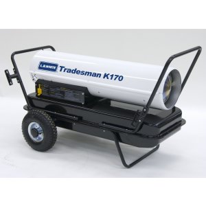 LB White Tradesman K175 175,000 BTUH Kerosene/#1 or #2 Fuel Oil Heater
