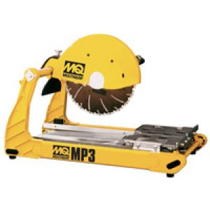 "Multiquip MP3 Masonry Table Saw 14"" Blade Guard, 2.5 hp 115v"