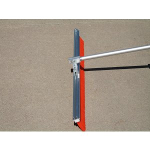 "36"" Auto Glide Concrete Finishing Broom Medium Texture Insert"