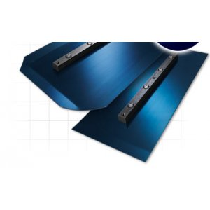 "8 x 18 Blue XL Finish Blade (8"" Flat w/ Round Corners)"