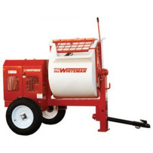 Multiquip Whiteman 9CF Poly Drum Mortar Mixer WM90PH8 Honda 8 hp