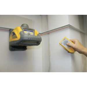 HV101 Horizontal/Vertical self leveling laser w/ Wall Mount, Rem