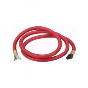 """Hose Whip 1/2"""" x 8' with 2 lug Connector (7/8"""" Inlet)"""