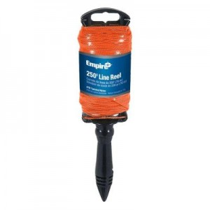 250 ft. Orange Twisted Line with Reel