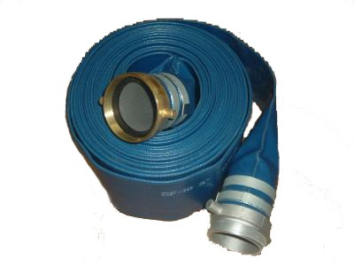 """3"""" x 50' Discharge Hose Coupled M X F"""