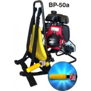 Oztec BP50 Backpack Vibrator Gas - 2-1/2HP Honda