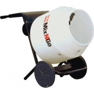 Multiquip MixNGo with Briggs Straton Gasoline Engine and Poly Dr