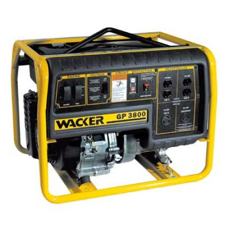Wacker GP3800 watt Portable Generator