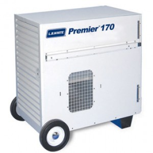 LB White Premier 170 Natural Gas  Ductable Heater Tent Heater