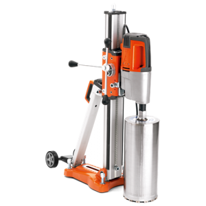 Husqvarna DMS 280 Core Drill with Anchor Base Suction Pad and Pu