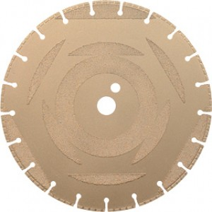 "16"" x .125 x 1 DP - 20 mm Ductile Iron Diamond Blade"