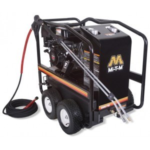 MI T M 3500 psi 3.3GPM Hot Water Pressure Washer